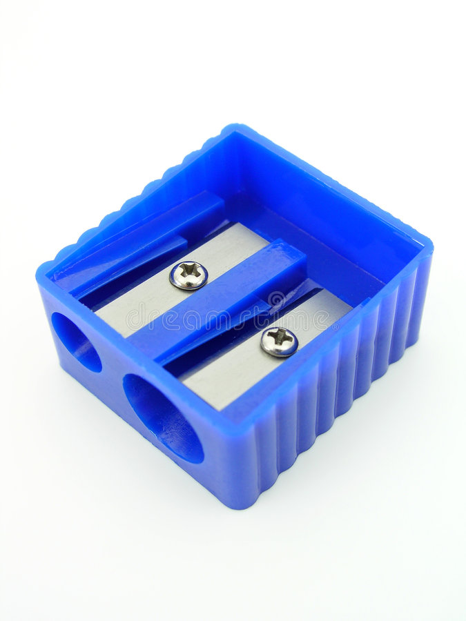 Free Blue Pencil Sharpener Royalty Free Stock Images - 234739