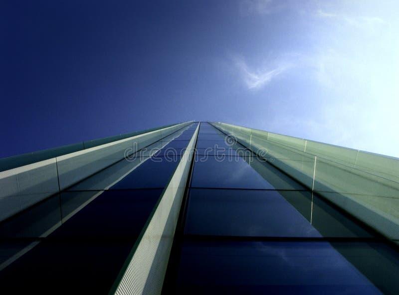 Blue perspective stock photos