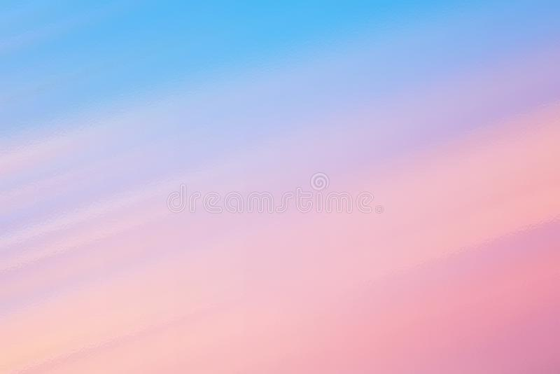 Blue and pink abstract glass texture background or pattern royalty free illustration