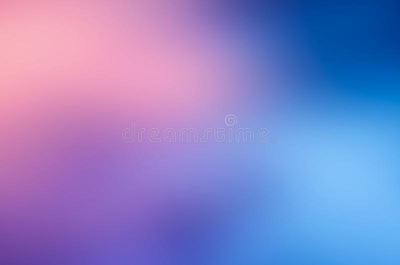 Blue pink blur abstract background stock photo