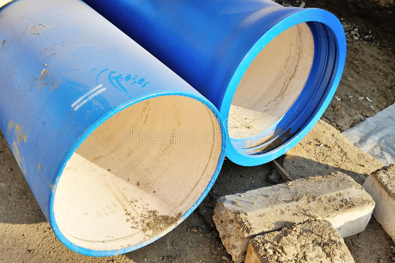 Download Blue Pipes Royalty Free Stock Images - Image: 25534159