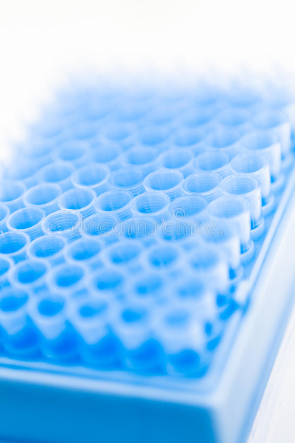 Download Blue Pipette Tips In Container, Stock Photography - Image: 18753322