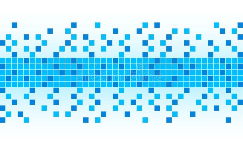 blue pixel background stock image - image: 6804411