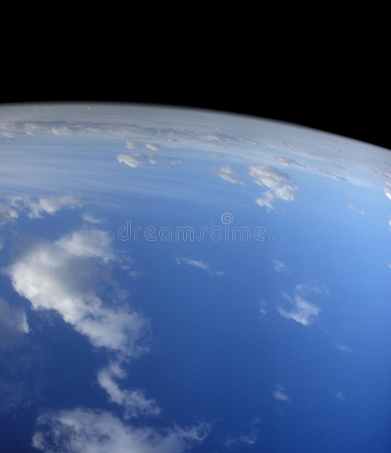 Blue Planet. Royalty Free Stock Image