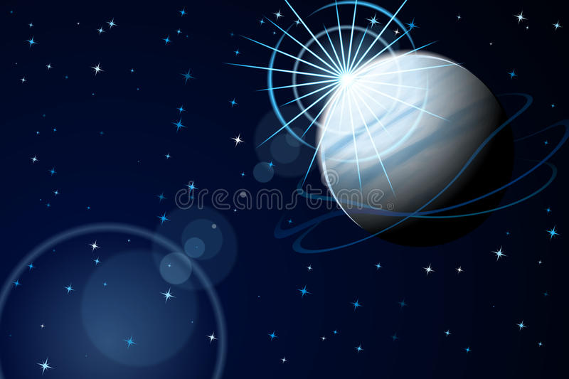 Download Blue Planet stock vector. Image of burst, universe, clip - 22915754