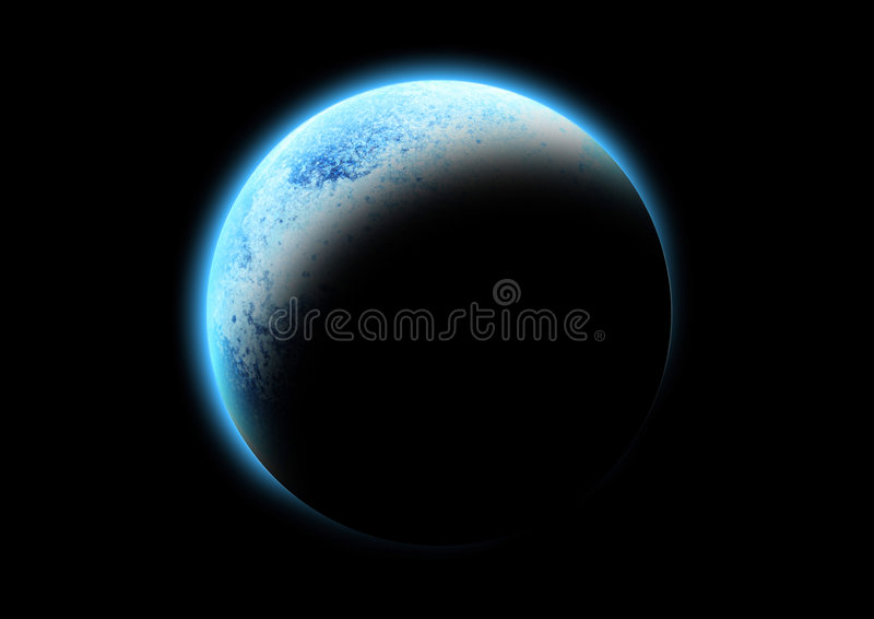 The Blue Planet stock illustration