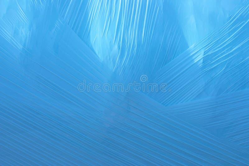 Blue plastic background royalty free stock image