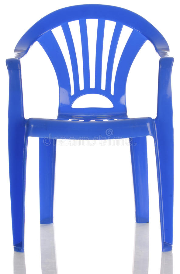 Download Blue plastic child chair stock photo. Image of plastic - 12778324