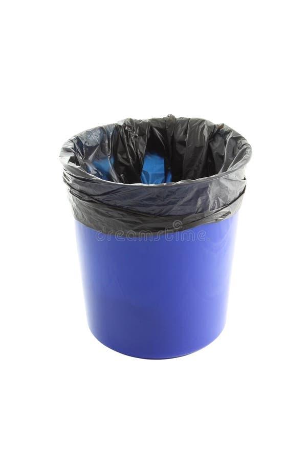 Download Blue Plastic Trash And Garbage Bag Stock Image - Image: 25435805