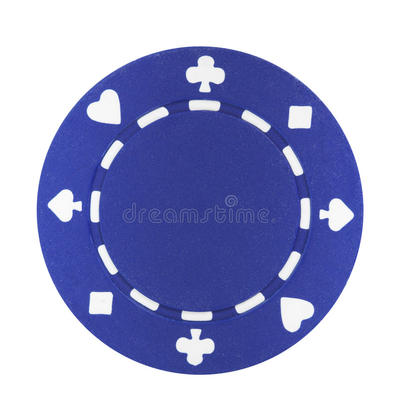 Free Blue Poker Chip Stock Photos - 2077093