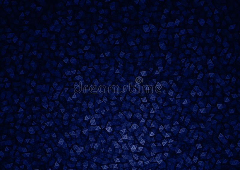 Blue Polygon Particles Abstract Background. Blue and Black Polygon Particles Abstract Background Texture royalty free illustration