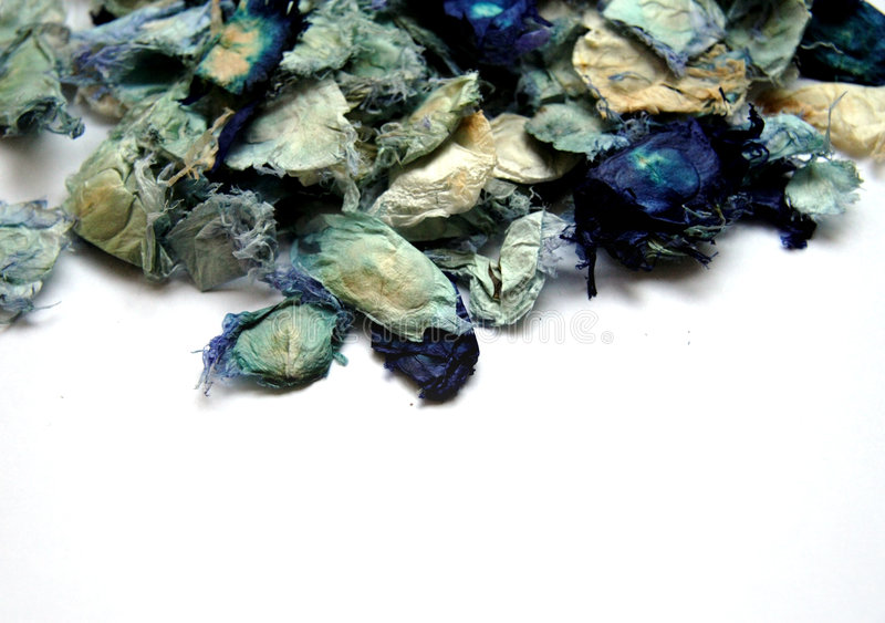 Blue potpourri royalty free stock images