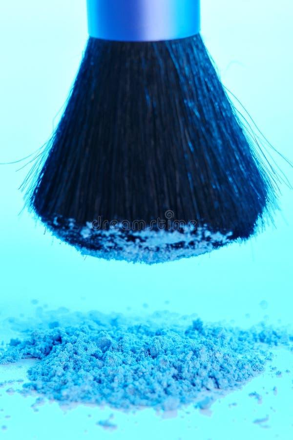 Blue Powder royalty free stock photography
