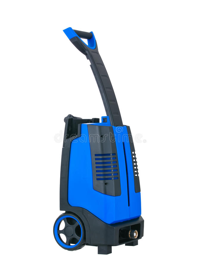 Download Blue Pressure Portable Washer Isolated Stock Image - Image: 19214203