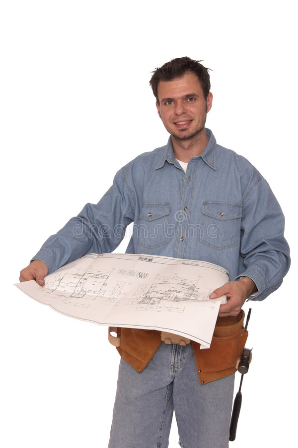 Blue Prints 3 Stock Photo
