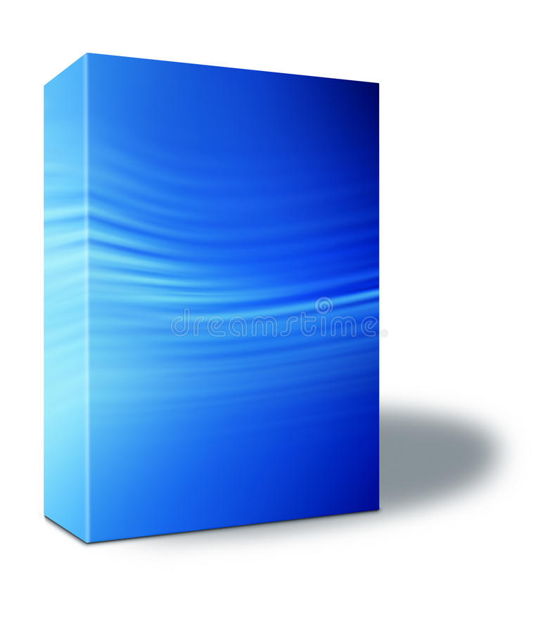 Free Blue Product Box Stock Photos - 15837603