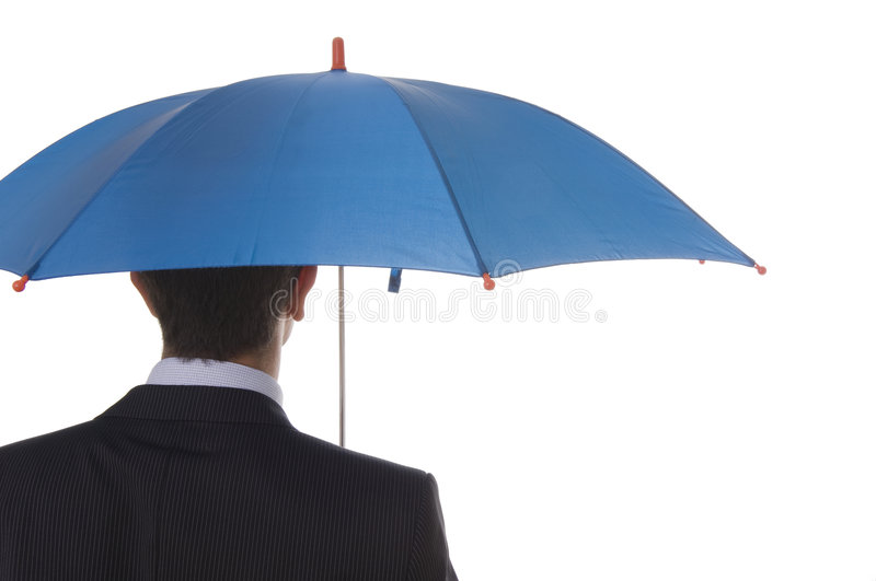 Download Blue Protection stock image. Image of businessman, hold - 6841637