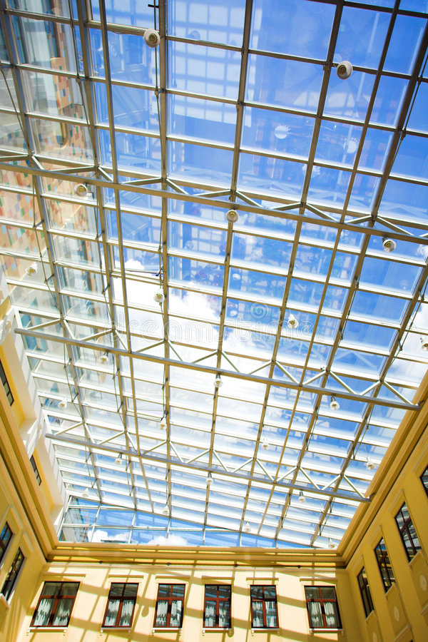 Free Blue Protection Ceiling Royalty Free Stock Image - 5054786