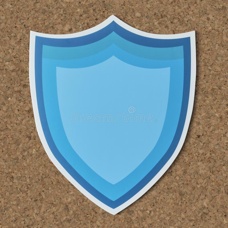 Free Blue Protection Shield Icon Stock Photo - 113695270