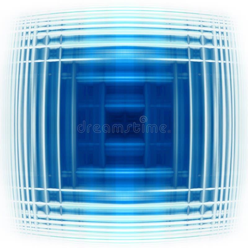 Blue pulse. Illustration of a blue abstract backround vector illustration
