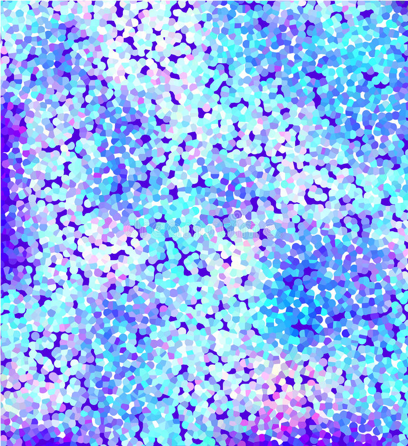 Blue purple abstract background with spots stock illustration