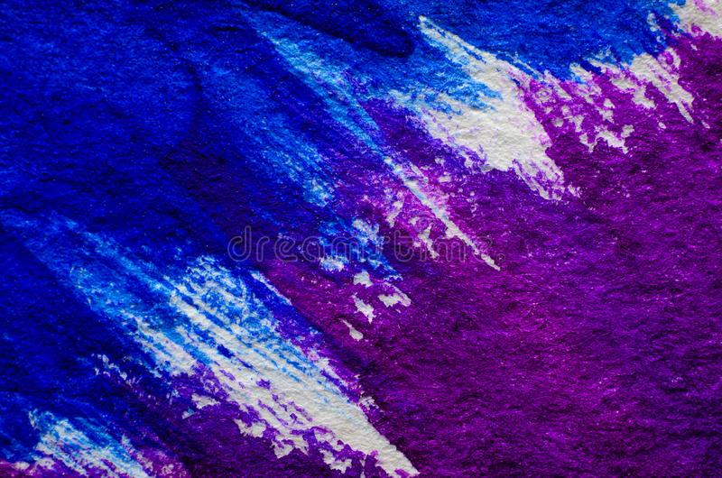 Blue purple watercolor background royalty free stock image