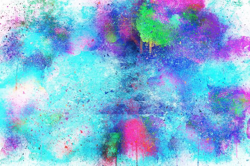 Blue, Purple, Watercolor Paint, Sky royalty free stock image
