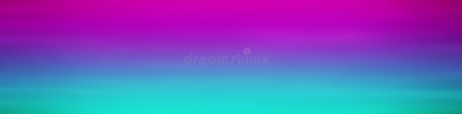 Blue and purple web site header or footer background. Abstract design template royalty free illustration