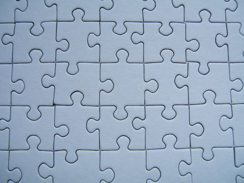 Download Blue puzzle stock photo. Image of color, concept, children - 153470