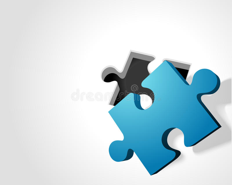 Download Blue Puzzle Piece Stock Photo - Image: 20637330