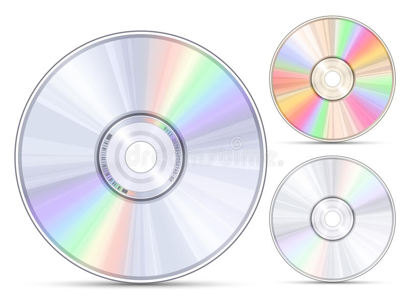Download Blue-ray, DVD or CD disc stock vector. Illustration of copy - 22944825