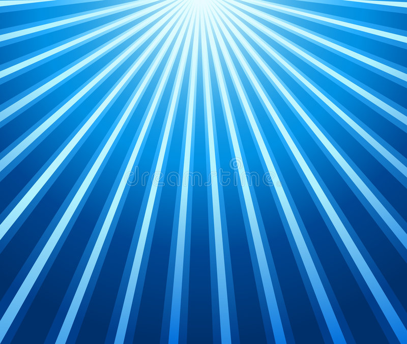 Download Blue rays background stock vector. Image of sixties, rays - 5257844