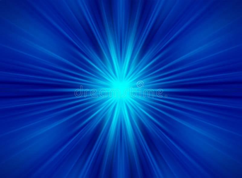 Blue Rays Background royalty free stock photography
