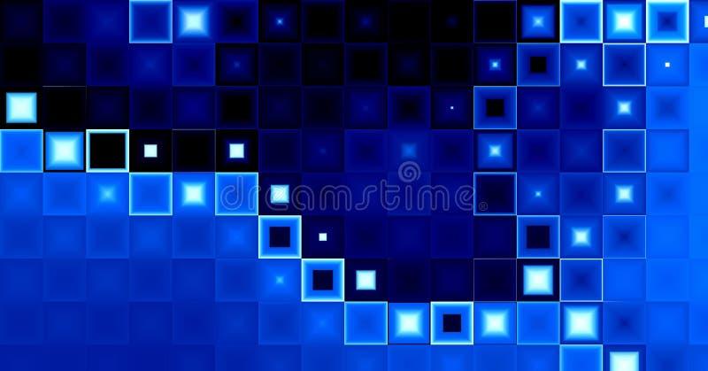 Download Blue rectangles background stock illustration. Illustration of edge - 15925767