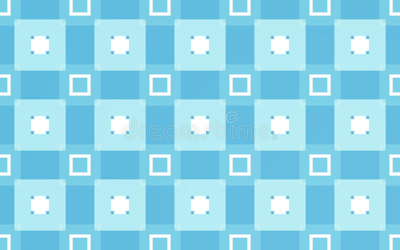Blue rectangles pattern background. And abstract textile vector illustration
