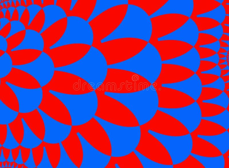 Blue Red Stock Photography
