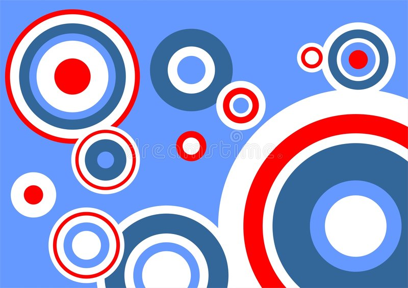 Blue-red background royalty free illustration