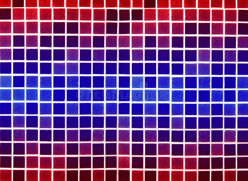 Blue red background made of plastic royalty free stock photos
