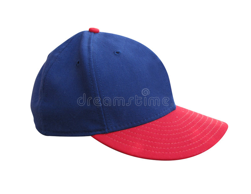 Blue and Red Hat royalty free stock photos