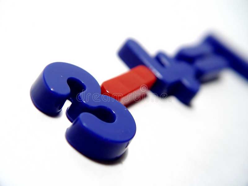 Download Blue And Red Numbers Royalty Free Stock Photo - Image: 76445