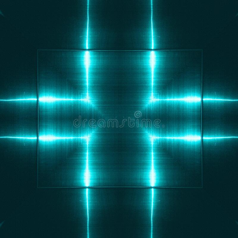 Blue reflecting metallic surface. Technological texture and background. Industry concept. Blue reflecting metallic surface. Technological texture and background royalty free stock photos