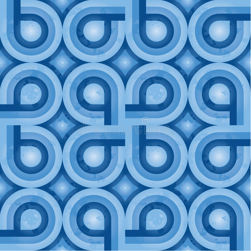 Download Blue Retro Pattern (weave) Stock Photography - Image: 6394142