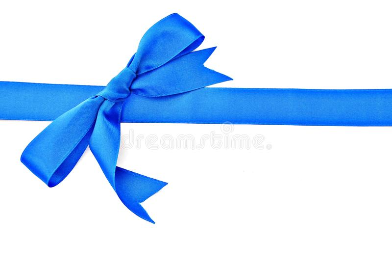 Download Blue ribbon stock image. Image of concept, white, ribbon - 15808907