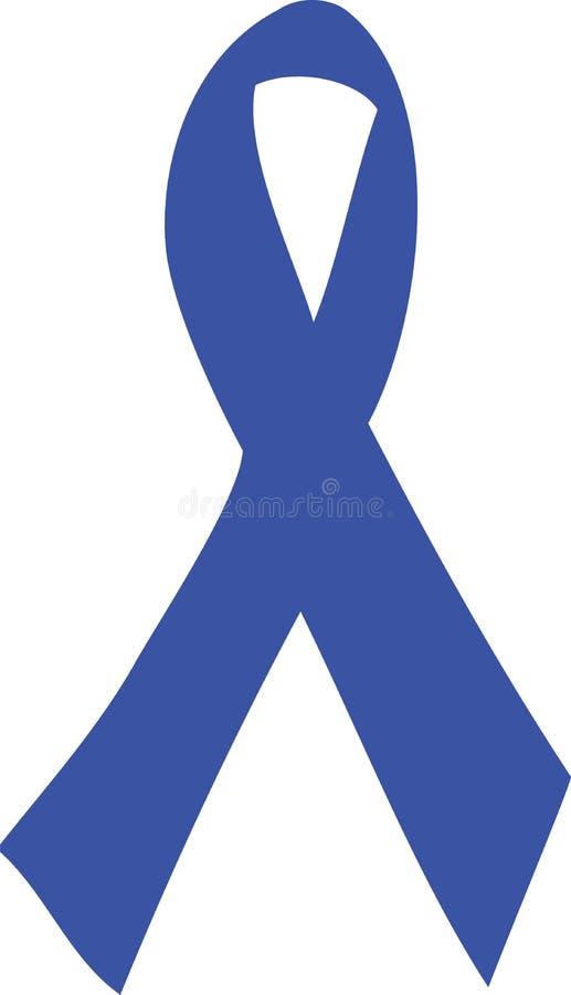 Blue Ribbon royalty free illustration