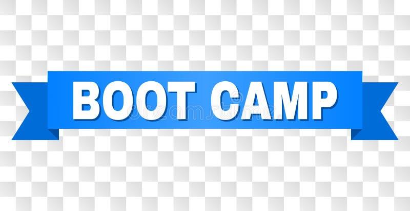 Blue Ribbon con el subtítulo de BOOT CAMP libre illustration