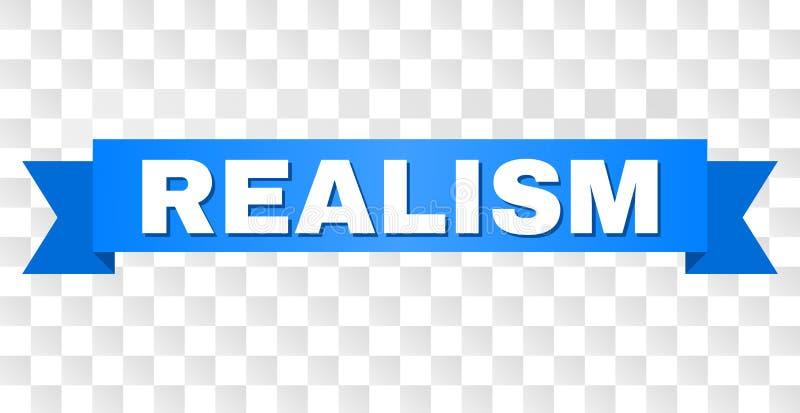 Blue Ribbon con título del REALISMO libre illustration