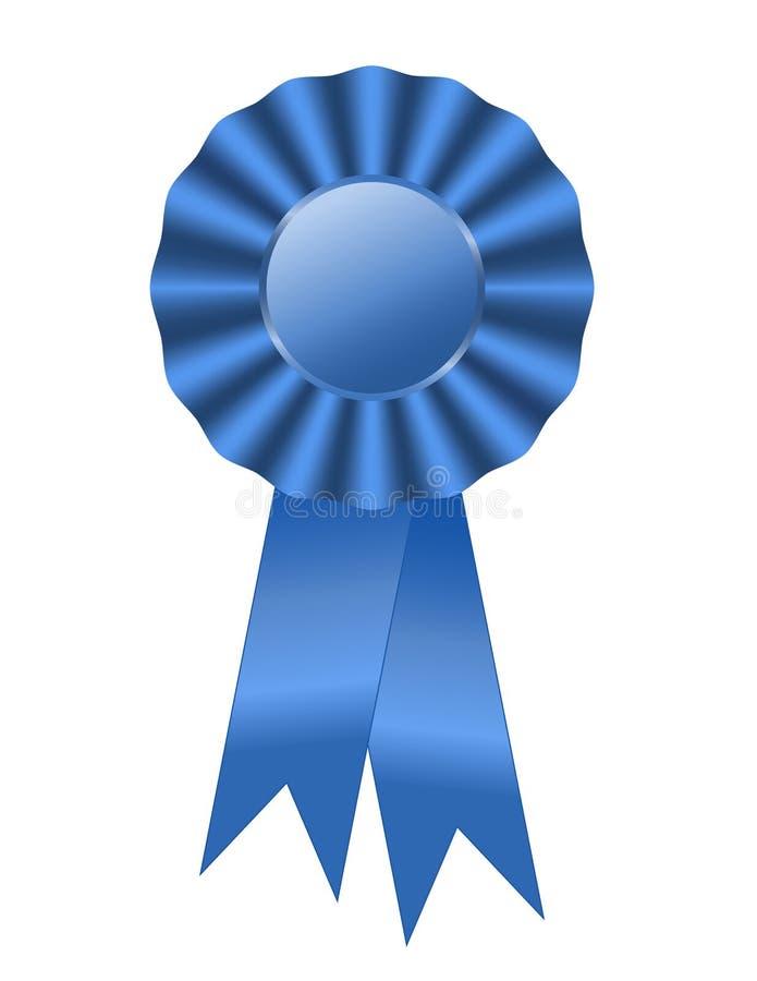 Free Blue Ribbon First Prize Royalty Free Stock Photo - 6629195