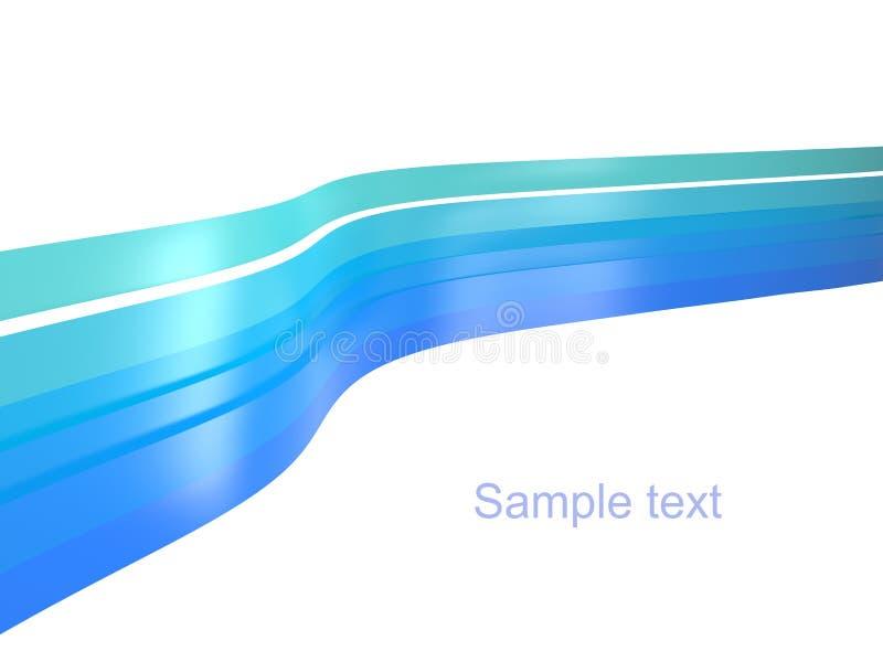 Download Blue ribbons background stock illustration. Illustration of blue - 13180268