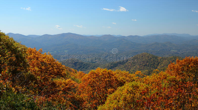 Download Blue Ridge Mountains stock photo. Image of change, brasstown - 21596642