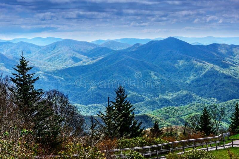 Blue Ridge Mountains, North Carolina stock image
